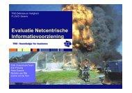 Peter Essens (TNO) - Evaluatie NEC experimenten - NIFV