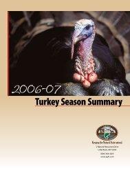 Turkey Season Summary - Arkansas Game and Fish Commission