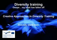 Diversity training Ooops .. my label has fallen off ... - Arteholos