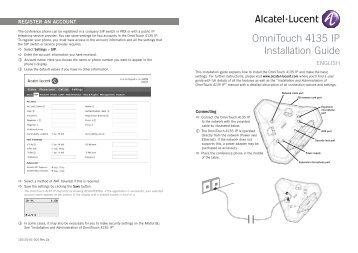 OmniTouch 4135 IP Installation Guide - Merit Telekom