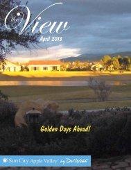 Golden Days Ahead! - Sun City