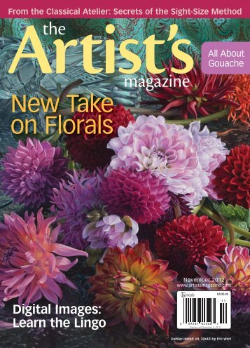 The Artist's Magazine, November 2012 - Artist's Network