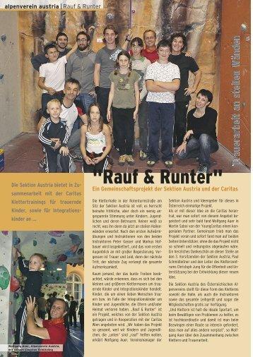 """""""Rauf & Runter"""" - Alpenverein Austria"""