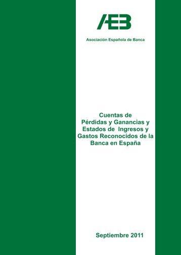 Cuentas de Pérdidas y Ganancias y Estados de Ingresos y Gastos ...