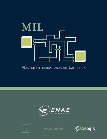 Master InternacIonal en logístIca - Celogis