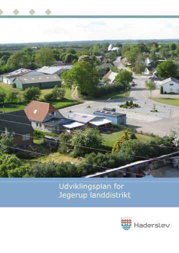 Udviklingsplan for Jegerup landdistrikt - Haderslev Kommune
