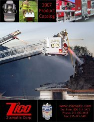 breathing apparatus related products - Ziamatic Corp