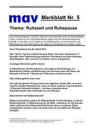 Merkblatt Nr. 5 - Diakonie im Oldenburger Land