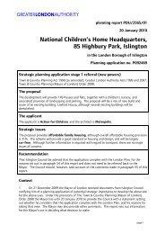 85 Highbury Park report PDF - Greater London Authority