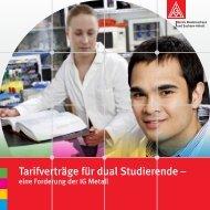 Tarifverträge für dual Studierende - Eine Forderung ... - hib Osnabrück