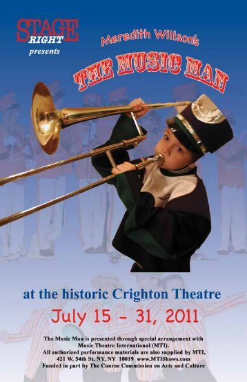 The Music Man - Stage Right Resources