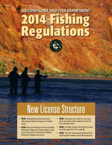 Lander region angler news wyoming game fish department for Arizona fish and game