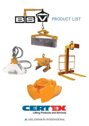 Please click here to view additional BSV products - Landcon