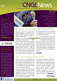 CNGL Newsletter Vol 1 Issue 2