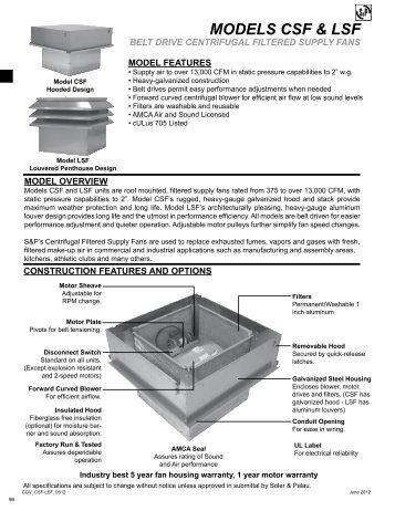 Catalog Pages - Soler & Palau Canada
