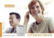 LP3240 3245 - UTAX UK