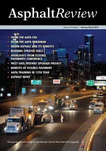 Asphalt Review - Volume 29 Number 1 (February / March 2010)