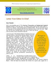 Letter from Editor-in-Chief - International Transaction Journal of ...