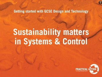 Getting Started With GCSE Design And Technology - Practical Action