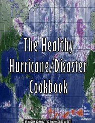 Healthy Hurricane Disaster Cookbook