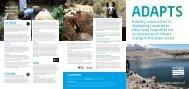 ADAPTS leaflet - Adaptation