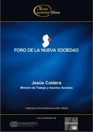 Jesús Caldera __28-02-06 - Nueva Economía Fórum