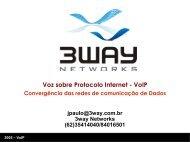 Voz sobre Protocolo Internet - VoIP