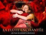 LA FLÛTE ENCHANTeE LA FLÛTE ENCHANTeE - Les Films du ...