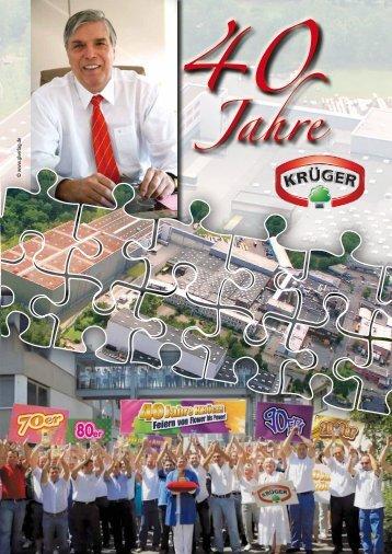 40 Jahre Krüger - GL VERLAGS GmbH