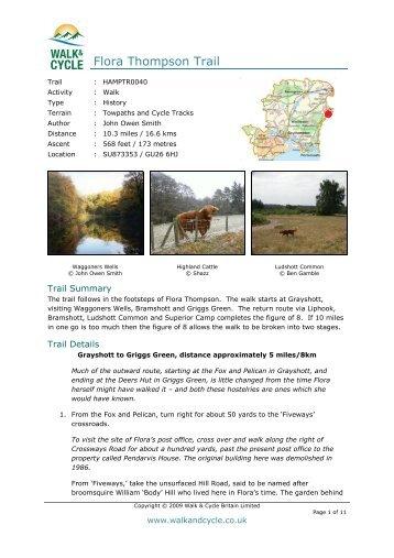 Printer-Friendly - Walk and Cycle Britain