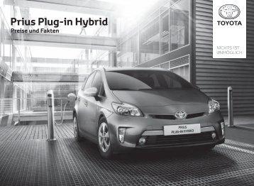 Prius Plug-in Hybrid - Toyota