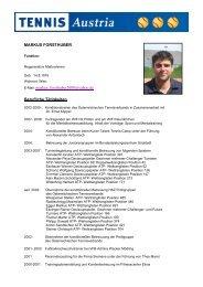 MARKUS FORSTHUBER E-Mail: markus_forsthuber2000@yahoo ...