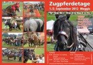 Zugpferdetage - Verein Freunde Schwerer Zugpferde Schweiz