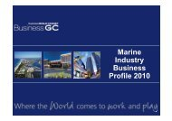 Marine Industry Business Profile 2010 - Business Gold Coast