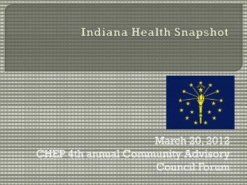 Indiana Health Issues - Indiana CTSI