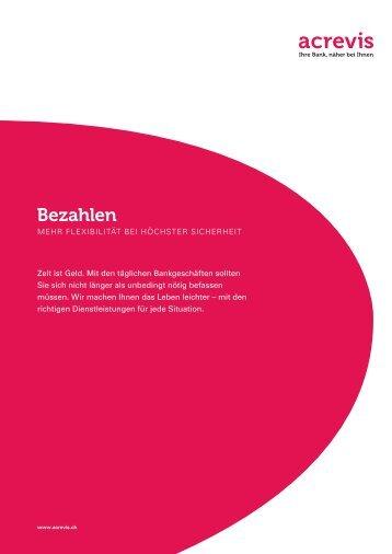 Broschüre downloaden - acrevis