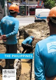 Water safety plan case study in the Philippines pdf, 1.12Mb