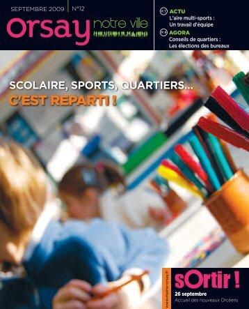 Orsay, notre ville - n°12 septembre