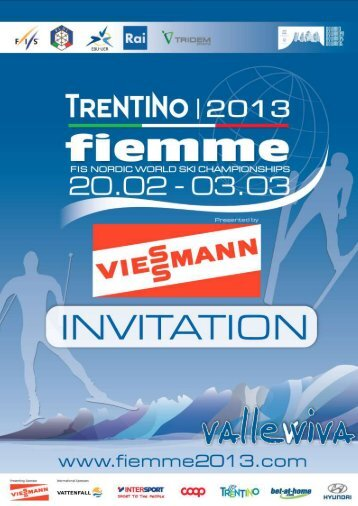 invitation - Fiemme2013