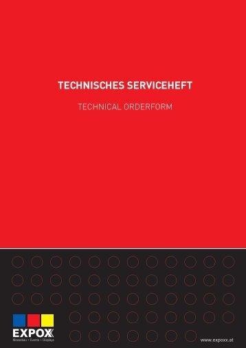 TECHNISCHES SERVICEHEFT - reded.at