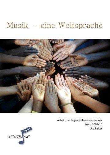 Musik – eine Weltsprache