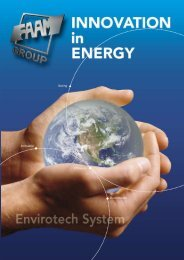 Environment Envirotech System equivalent per life cycle (5 ... - Faam