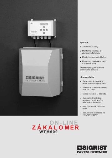 on-line zákalomer wtm500