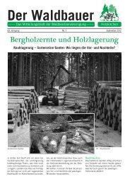 Der Waldbauer - WBV Holzkirchen