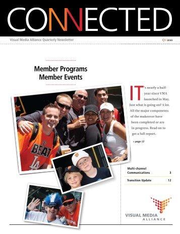 Member Programs Member Events - Visual Media Alliance
