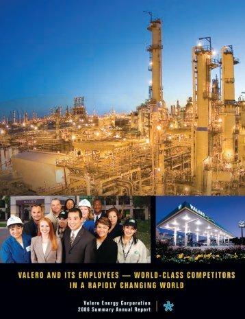 annual report 2006.pdf - Valero