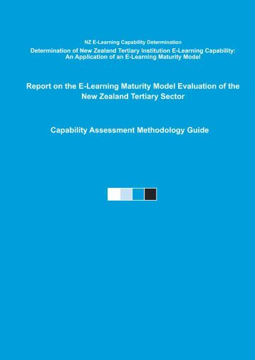 E-Learning Process Capability Determination - Centre for Academic ...