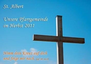 Herbst 2011 - Pfarrei St. Albert Augsburg-Haunstetten