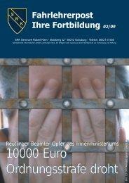 10000 EEuro Ordnungsstrafe ddroht - Klein, Robert