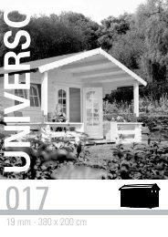 19 mm - 380 x 200 cm - Gartenhaus-wohnkultur.de